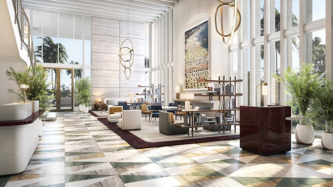 Four Seasons Private Residences Fort Lauderdale cuenta con una terraza frente al mar con dos experien
