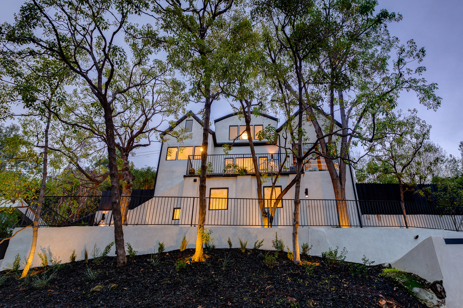 This four-bedroom, four- bathroom, contemporary tree house is on sale for $2.150 million.