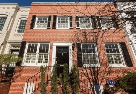 肯尼迪夫妇首次邂逅的华盛顿联排别墅挂牌出售