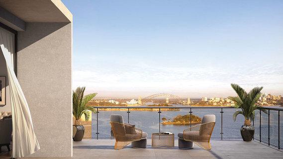 每日豪宅   尽览悉尼地标的派珀角现代顶层公寓