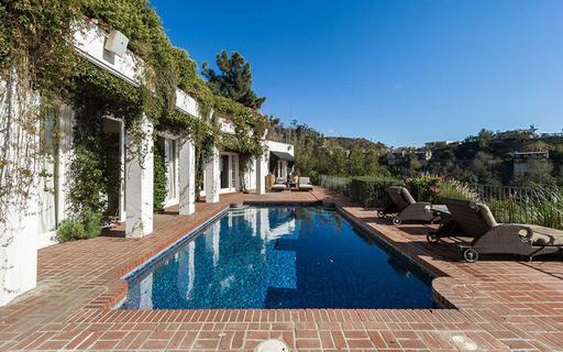 每日豪宅 | 记载好莱坞传奇的洛杉矶山坡别墅