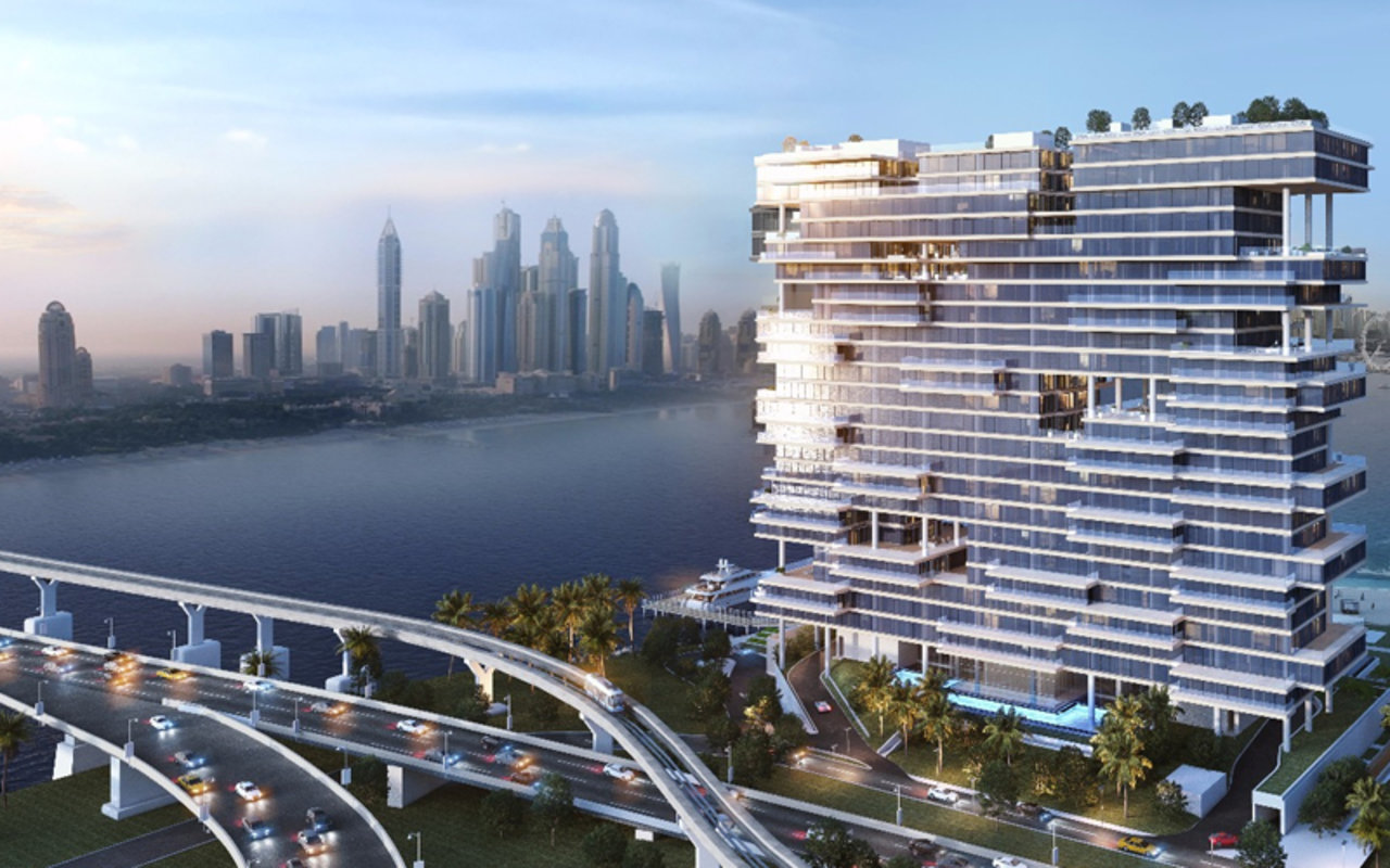 In September, a penthouse apartment was purchased for AED102 million at One Palm Dubai