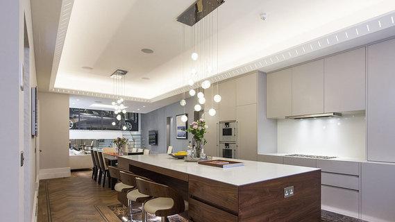 要价1475万英镑伦敦豪宅内设创意车库餐厅