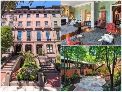 每日豪宅 | 合二为一的波士顿后湾联排公寓