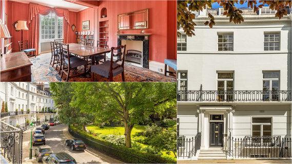 每日豪宅   皇室驻足的伦敦市中心经典联排别墅