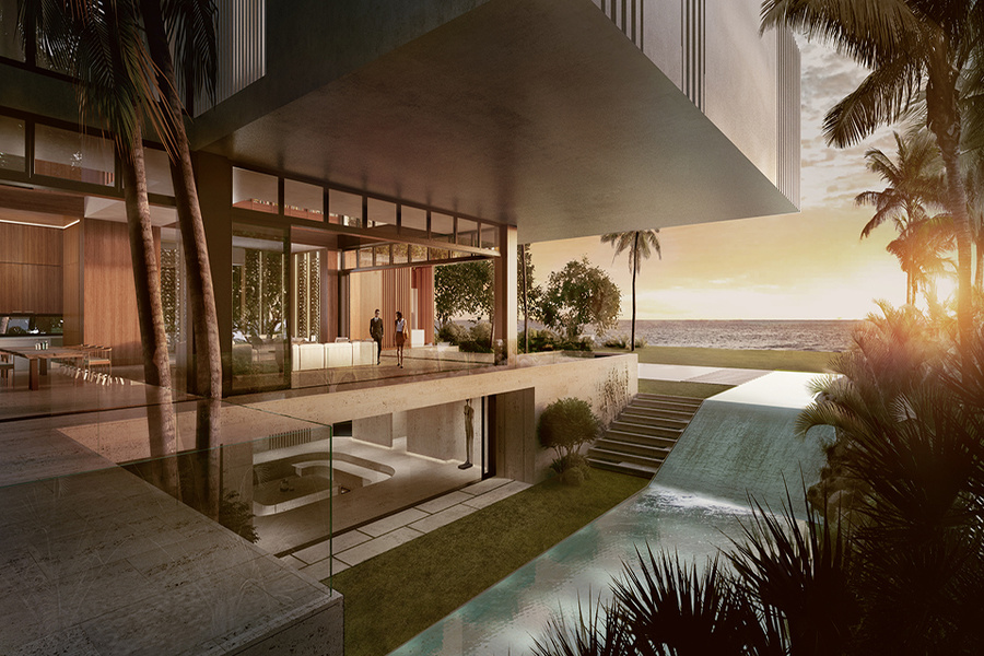 Abramson plans to build a 22,000-square-foot beachfront estate known as Casa Playa. When finished, th