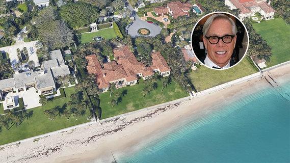 时尚大亨汤米·希尔费格转手3500万美元地中海风格庄园
