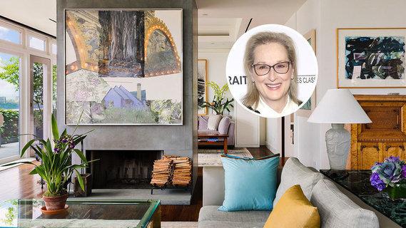 梅里尔·斯特里普开价2460万美元出售翠贝卡顶层公寓