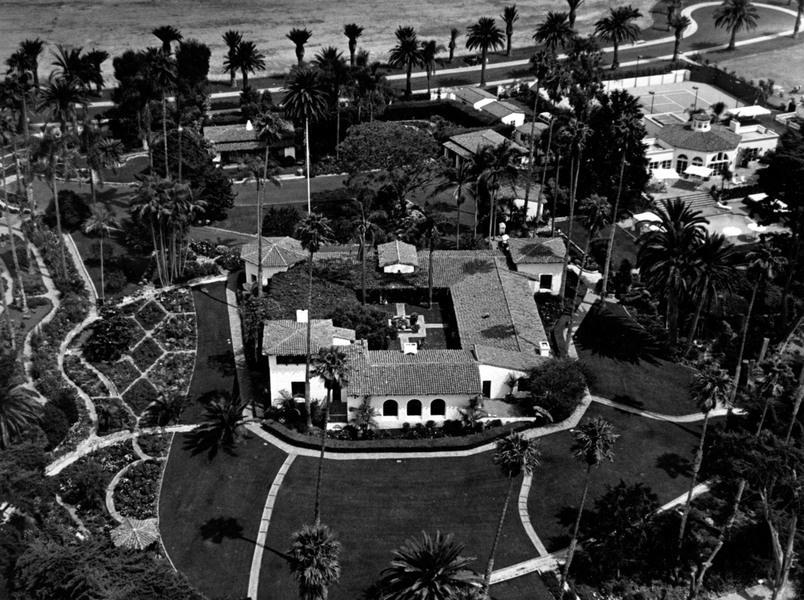 """这座名为""""太平洋之家""""的庄园是美国前总统理查德·尼克松的度假屋。"""