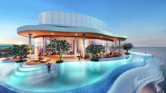 每日豪宅   俯瞰冲浪天堂的澳洲最高海滨大厦顶层公寓