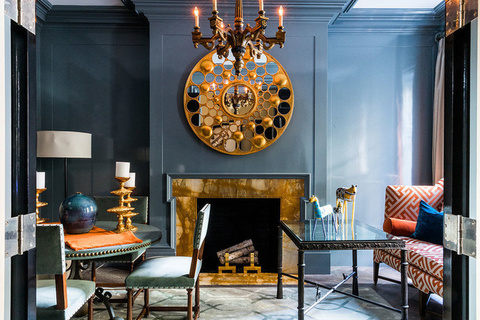 每日豪宅 | 兼具传统设计与现代便利的曼哈顿西村联排别墅