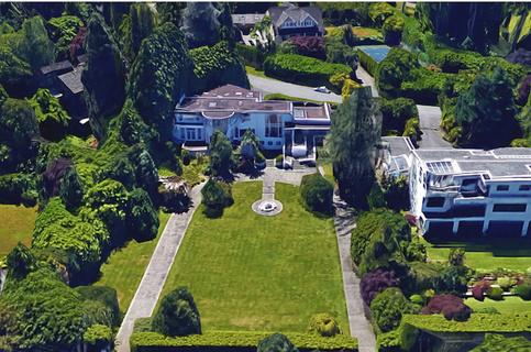 温哥华亿万富翁街豪宅标价2800万加元出售