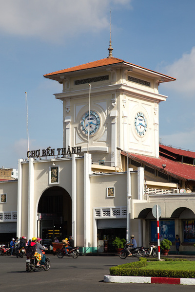 Ben Thanh Market is a large marketplace in District 1 of Saigon. The market is one of the most recogn