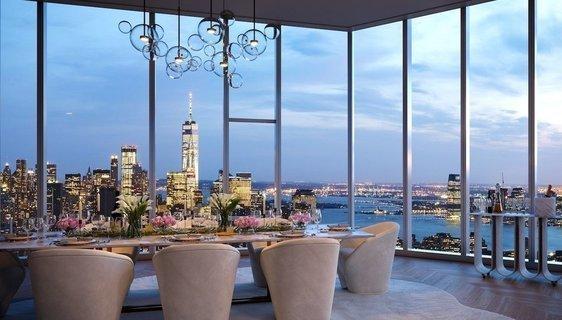 纽约麦迪逊广场公园大厦顶层公寓上市要价7770万美元