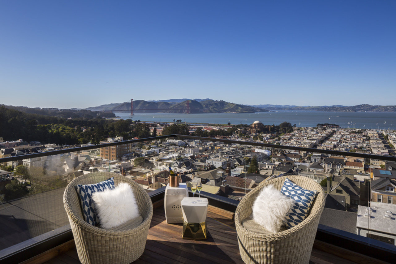 The sale of this San Francisco spec home set records in March