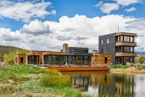 每日豪宅 | 拥抱自然的科罗拉多州现代景观大宅