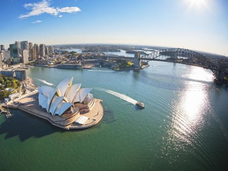Sydney's annual dwelling values are up 10.5%, but it's still a pricier city than Melbourne.