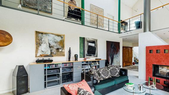 每日豪宅 | 内设艺术画廊的法兰克福郊区别墅